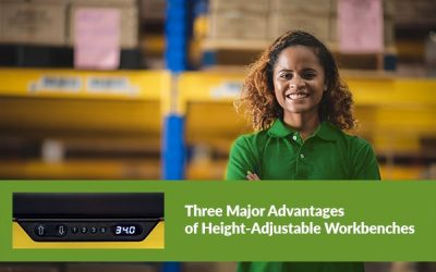 3 Major Advantages of Height Adjustable Workbenches