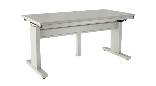 Electric Height Adjustable  Center Justified Workbenches
