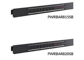 8-outlet horizontal power bar 15A 20A