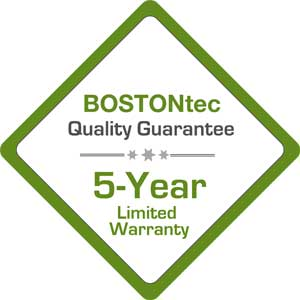 BOSTONtec warranty badge