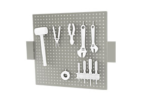 BS2428P Peg Board without uprights