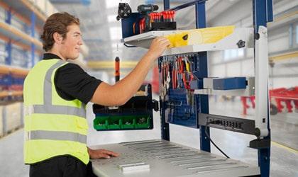 Custom assembly workstation