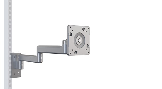 FPDA Articulating Flat Screen Monitor Arm with Upright