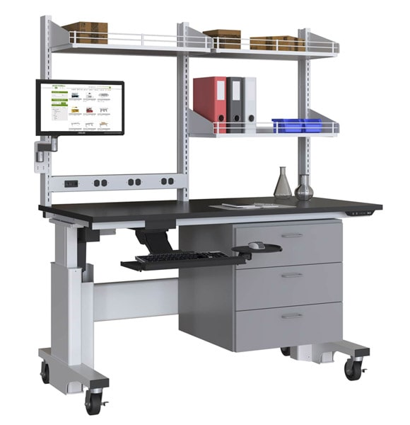 LPC Adjustable Lab Bench