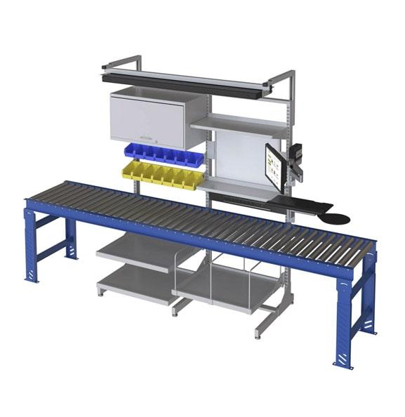 Over Conveyor Workstation