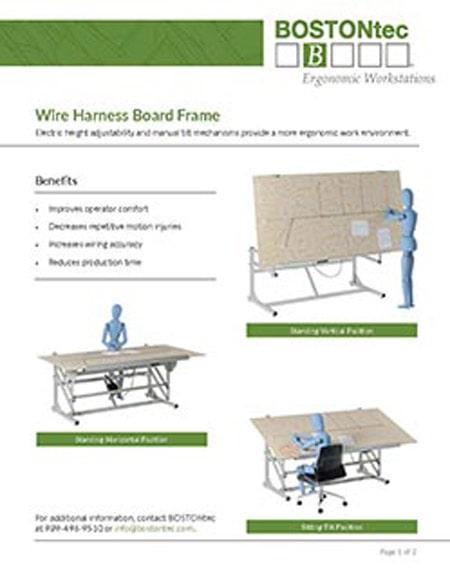 Wire Harness Board Frame Flyer