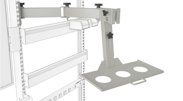 Articulating Monitor and Keyboard Arm