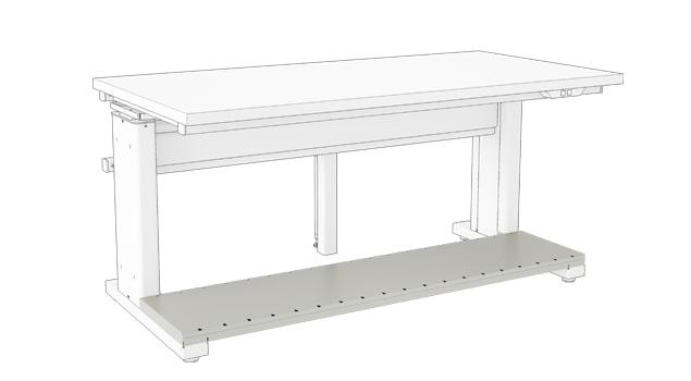 Steel Foot Shelf