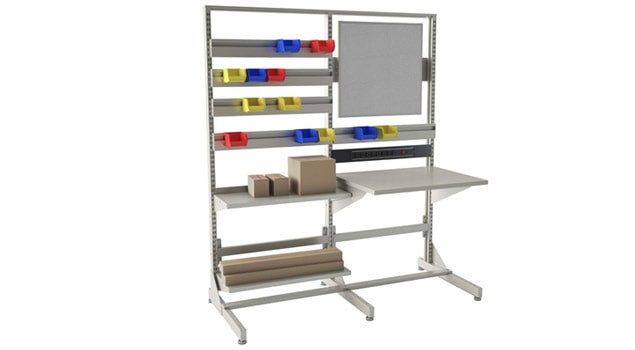 Double Standing Workbench