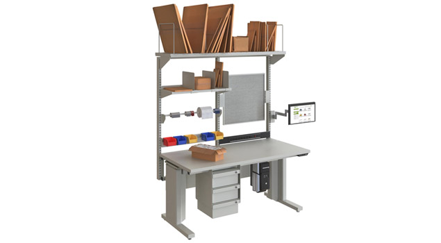 Grey Electric Heavy Duty Packing Station
