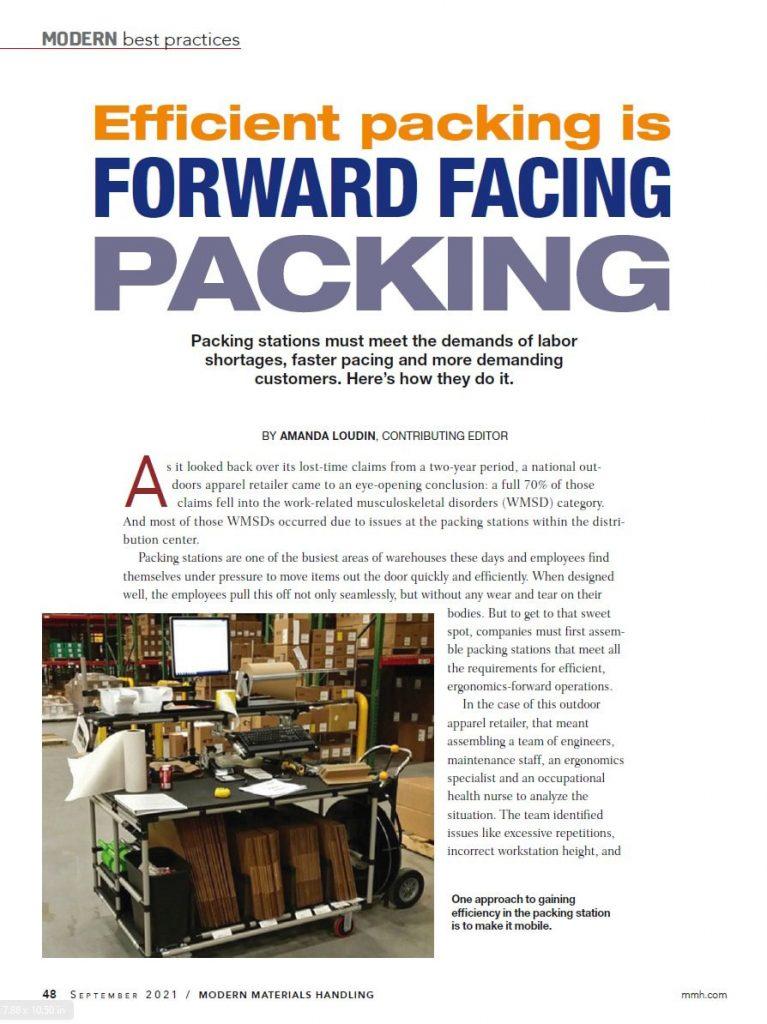 Modern Material Handling Article