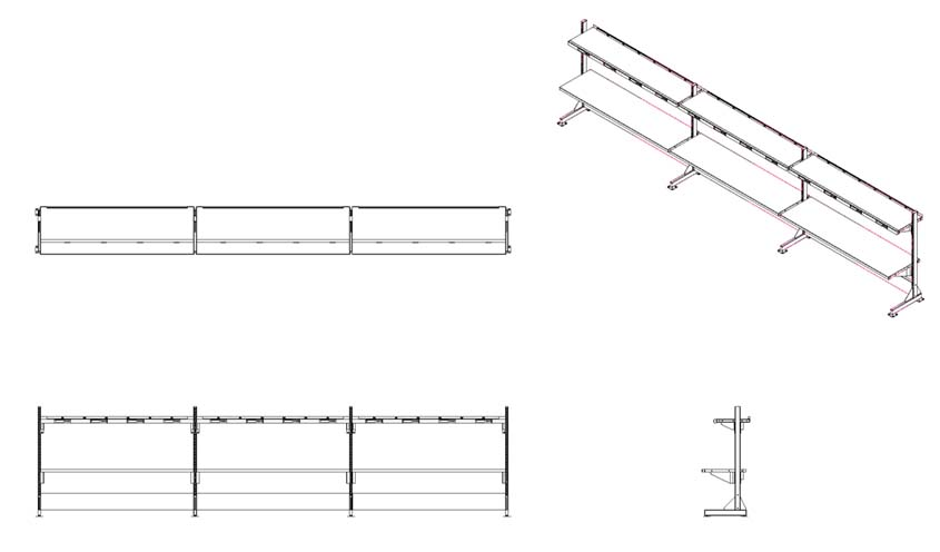 put-to-Light Standing Workstations