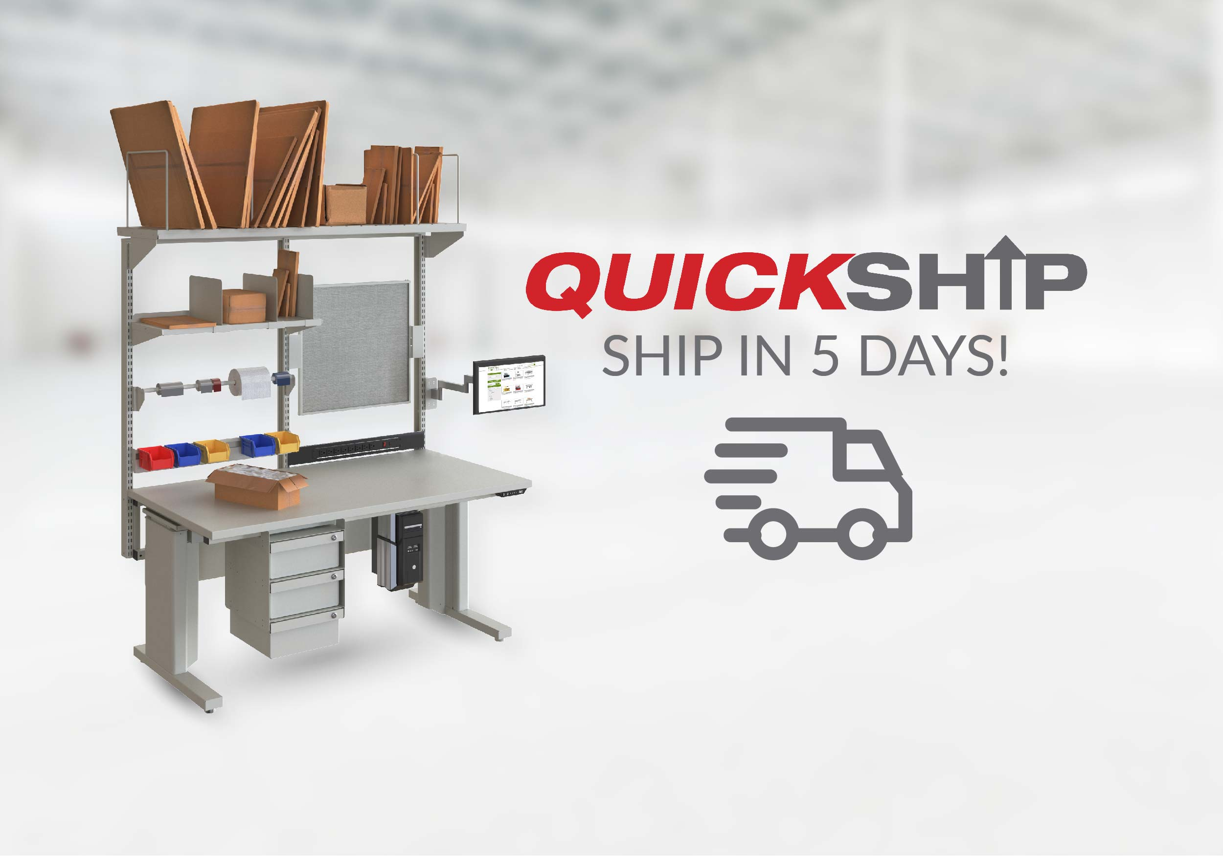 Quick Ship Workstations